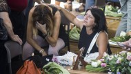 Der Schmerz ist groß. 290 Menschen wurden bisher tot im Erdbebengebiet geborgen.