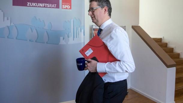 Die SPD auf der Suche nach der Dachlatte