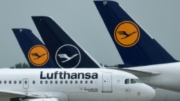Lufthansa meldet Rekordverlust