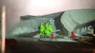 Autobahn 7 bis mindestens Sonntagnacht gesperrt