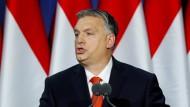 """""""Der Westen wird fallen"""": Orbán am Sonntag in Budapest"""