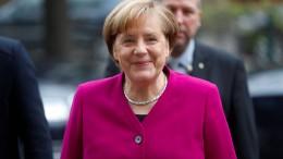 Merkel geht von Erfolg aus