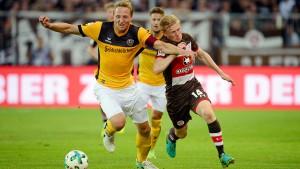 St. Pauli und Dresden trennen sich 2:2