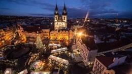 Prag zur Weihnachtszeit