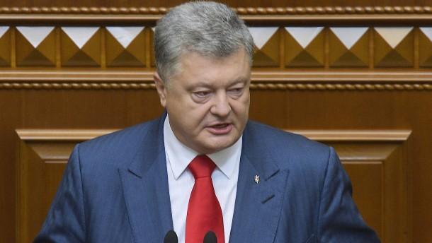 Zwischenstaatlicher Konflikt: Russland verhängt Sanktionen gegen Ukraine