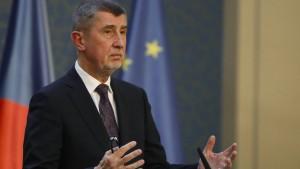 Parteien einigen sich auf Minderheitsregierung in Tschechien