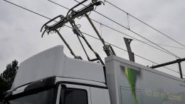 Feldversuch für elektrische Lastwagen rückt näher