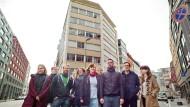 """Wohngemeinschaft: Die Gruppe """"Nika"""" will das alte Pelzhändlerhaus im Bahnhofsviertel zum Wohnhaus umbauen."""