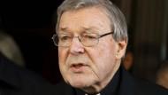 Ermittlungsverfahren Gegen Vatikan-Finanzchef Pell Wegen Kindesmissbrauchs