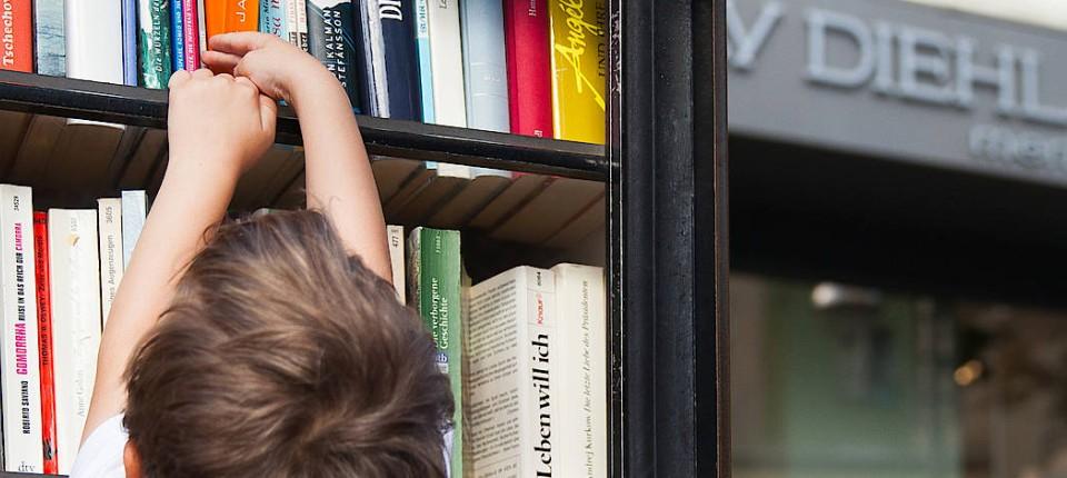 Bücherschränke in Frankfurt: Mach es zu deinem Besitz