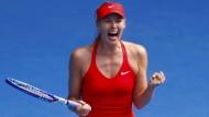 Scharapowa gegen Angstgegnerin Williams im Finale