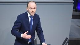 CDU-Politiker Löbel legt Bundestagsmandat nieder