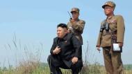 Nordkorea kann atomaren Sprengkopf bauen