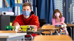 Maskenpflicht im Unterricht für Schüler in Schleswig-Holstein