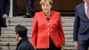 Merkel hält Neuwahlen für besseren Weg als Minderheitsregierung