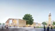 Ein bisschen mehr architektonisches Arte Povera würde gut tun: Entwurf des Museums des 20. Jahrhunderts von 2018