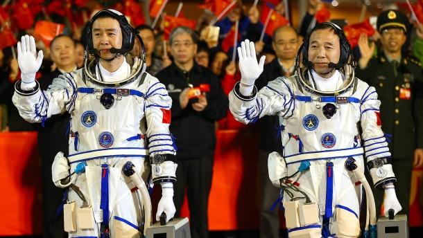 Pekings langer Marsch ins All geht weiter