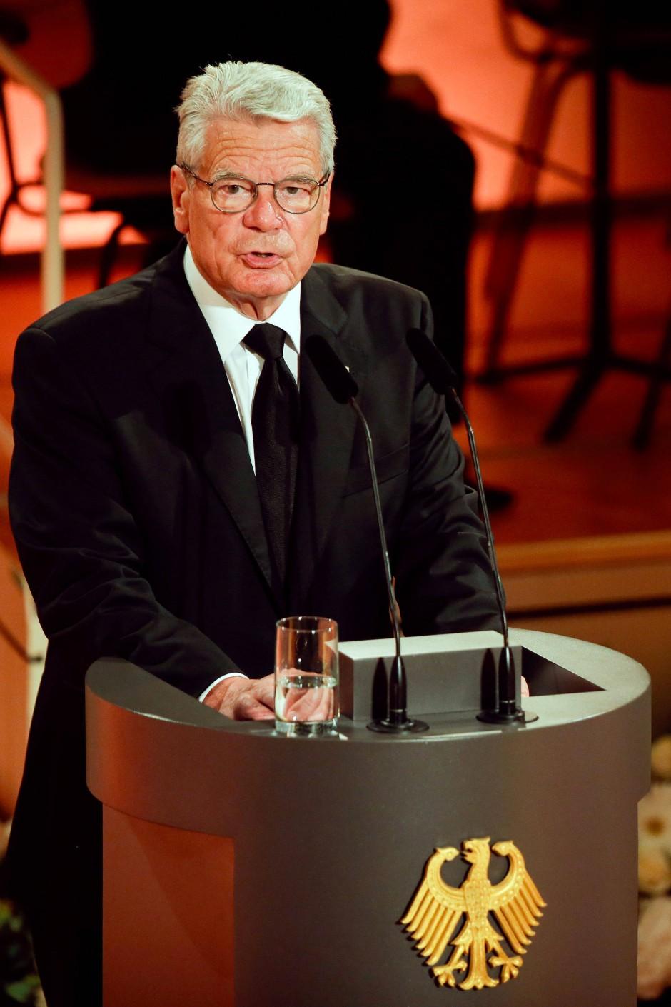 Auf einen Nachfolger für ihn scheinen sich die Parteien der großen Koalition noch nicht geeinigt zu haben: Bundespräsident Joachim Gauck.