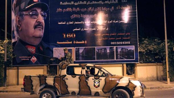 Massengrab in Libyen entdeckt