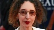"""Joyce Carol Oates in Frankreich beim """"Deauville American Film Festival"""" während der Premiere des Films """"Fair Game""""."""