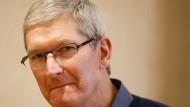Apple-Chef Tim Cook.
