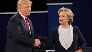 Trump wird Mueller und den E-Mail-Hack nicht los