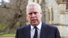 Zivilklage gegen Prinz Andrew zugestellt