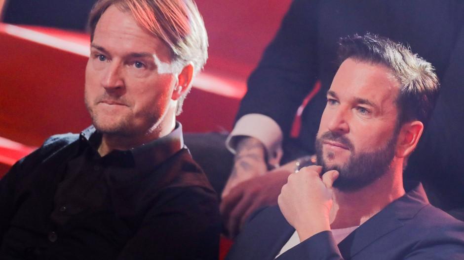 Markus Krampe (links) gemeinsam mit Michael Wendler im Februar 2020