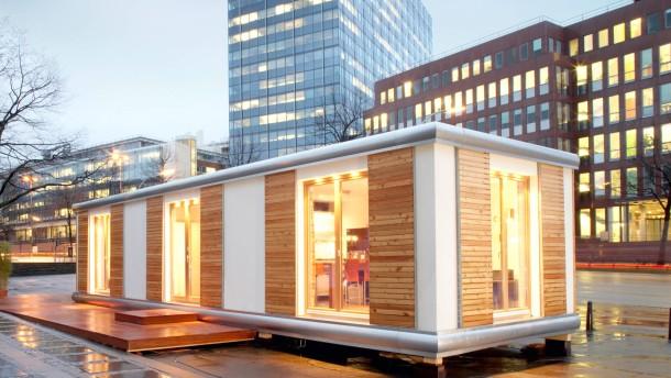 Smarthouse Kosten minihäuser zu hause im wohnwürfel wohnen faz