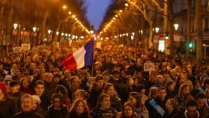 Millionen Franzosen marschieren gegen den Terror