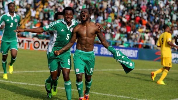 Nigeria und Elfenbeinküste lösen Ticket