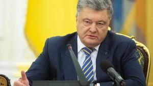 Poroschenko verhängt Kriegsrecht in der Ukraine