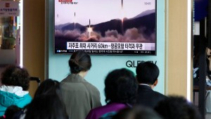 Nordkorea testet abermals Mittelstrecken-Rakete