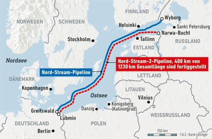 Nord Stream 2 Karte.Nord Stream 2 Eu Staaten Einigen Sich Auf Gas Richtlinie