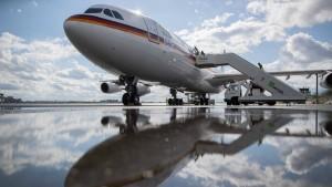 Regierungsflotte soll neuen Airbus bekommen