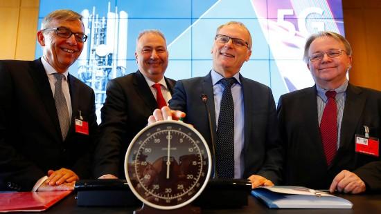 Startschuss für 5G in Deutschland