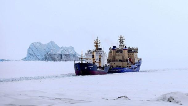 Die Sicherheit wird in der Arktis verteidigt