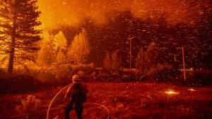 Und wieder brennt' s in Kalifornien