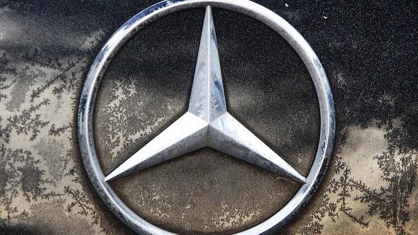 Immer Ärger beim Daimler