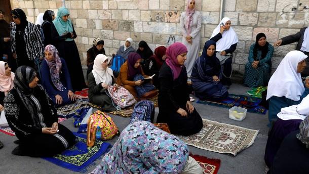 Palästinenser wollen Tempelberg-Boykott fortsetzen