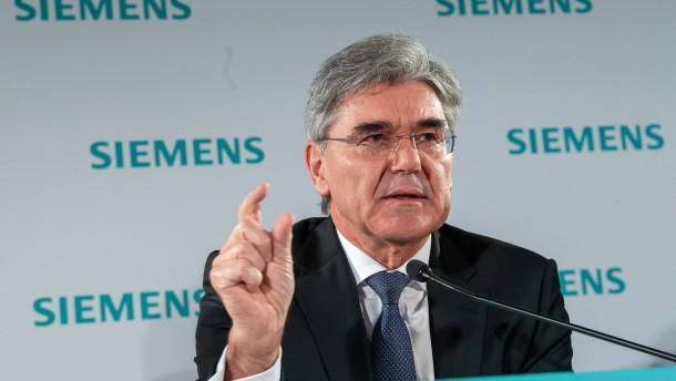 Schwierige neue Siemens-Welt