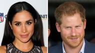 """Auf einer Hochzeit schauen Prinz Harry und Meghan Markle in verschiedene Richtungen - ist das ein Indiz für eine Beziehungskrise, wie """"Gala"""" vermutet?"""