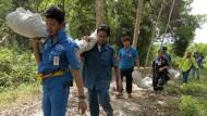Malaysia meldet Fund von Massengrab