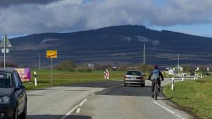 Zu viele Radler auf Feldwegen