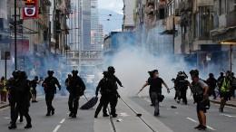 180 Festnahmen bei Demonstrationen in Hongkong