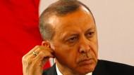 Nicht richtig verstanden? der türkische Präsident Recep Tayyip Erdogan