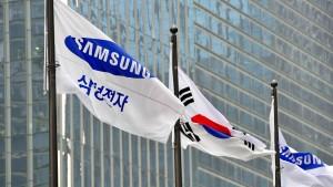 Samsungs Gewinn bricht um fast 25 Prozent ein