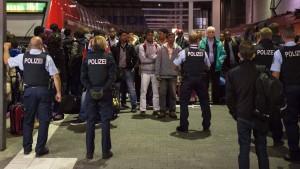 Die deutsche Grenze wird zur Konfliktzone