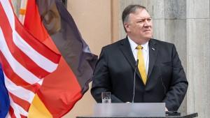 Pompeo warnt Deutschland vor 5G-Ausbau mit Huawei