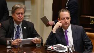Wird Trumps Stabschef zum Sündenbock gemacht?